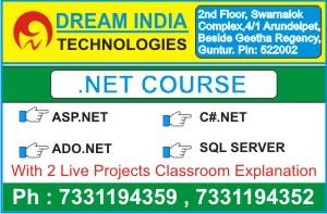 Dot NET Training Course in Guntur