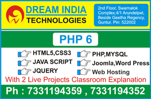 PHP Training in Guntur