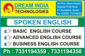 Spoken English Institute in Guntur - Spoken English Course in Guntur @ Dream India Technologies